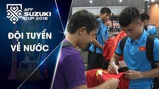 Đội tuyển Việt Nam rời Yangon | VFF Channel