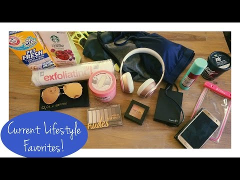 Current Lifestyle Favorites - Fashion, Beauty, Food, Electronics, Favorite Youtubers & More!