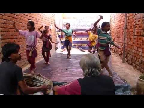 Humble Village dance school in Raghurajpur, Puri, Orissa, India
