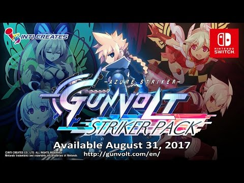 Azure Striker GUNVOLT: STRIKER PACK (Switch Version)  - Official Trailer