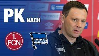 PK NACH AUSWÄRTSDREIER - NÜRNBERG - Hertha BSC - 2019