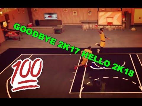 NBA 2K17 - GOODBYE 2K17 HELLO 2K18 (DRIBBLE) (DUNKS) (HD GAMEPLAY)