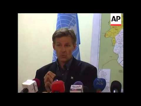 UN envoy comments on humanitarian crisis in Darfur