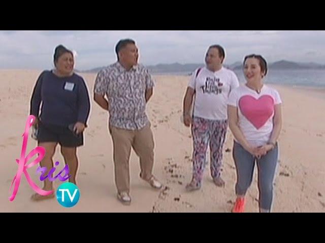 Kris TV: Kris, Darla go to Club Paradise Resort