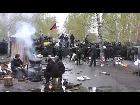 Sloviansk - Inside the Barricades by Police HQ