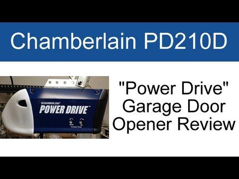 Chamberlain Pd210d Garage Door Opener Review Youtube