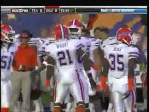 Top 10 NCAA Football Hits- 2008-'09 klip izle