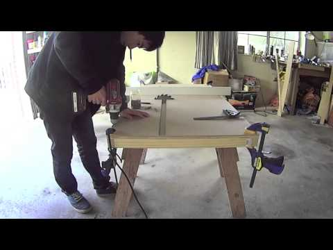 DIY Tablesaw (part 2)