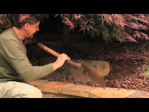 Laying Landscape Stones on a Slope : Landscaping Designs & Ideas