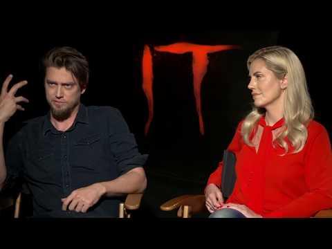 IT Movie Interview - Andy & Barbara Muschietti