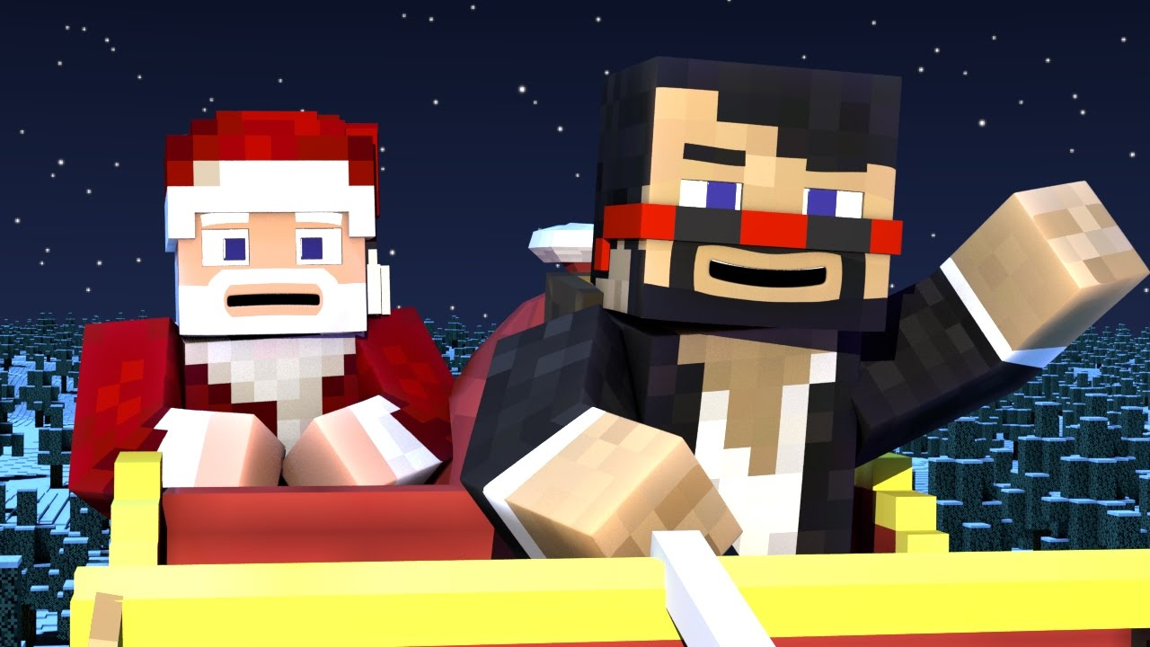 A VERY MINECRAFT CHRISTMAS - Part 2 (Minecraft Animation)