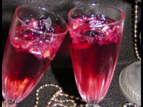 Hibiscus and Champagne