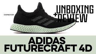 UNBOXING+REVIEW - Adidas Futurecraft 4D
