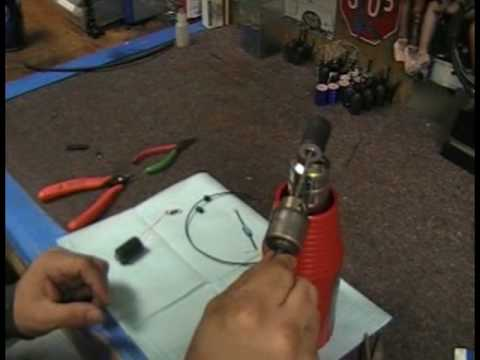 How basic 8 wrap tattoo machine coils are made at superior tattoo.