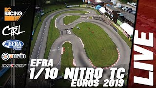 EFRA 1/10th IC Track Euros - Saturday, Finals Day Live!