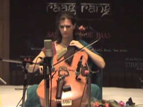 Saskia Rao-de Haas on her Indian Cello performing Miyan ki Malhar