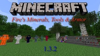Minecraft 1.3.2 Fire's Minerals, Tools & Armor Mod Spotlight HD