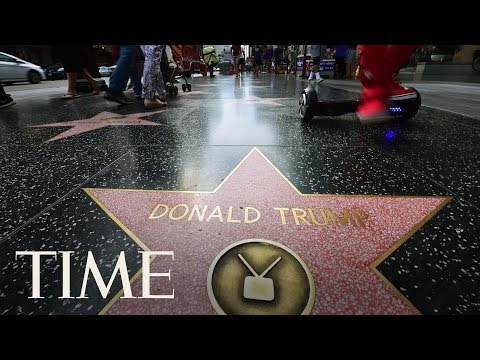 West Hollywood Council Passes Resolution To Remove President Trump's Walk Of Fame Star | TIME