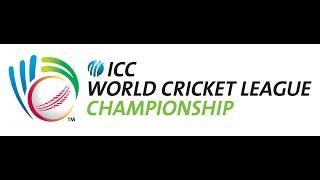 ICC World Cricket League 2017 - UAE vs Nepal