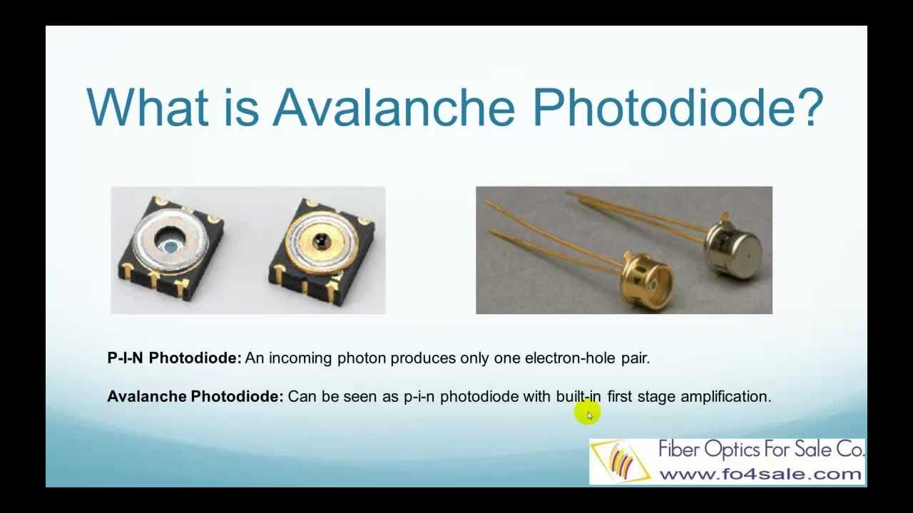 Avalanche Photodiode Working What is Avalanche Photodiode