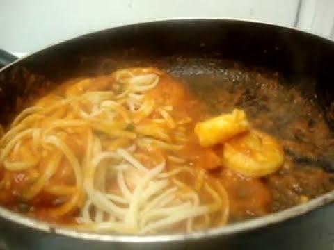 Receta de pasta italiana a mi estilo - Receta de salsa para pasta y pizza