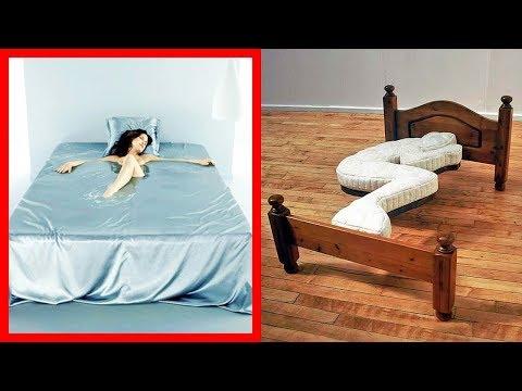 14 Невероятных Кроватей, о Которых вы не Слышали