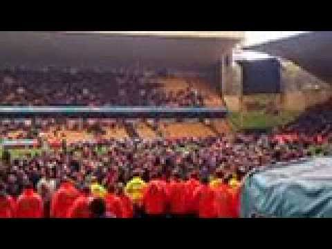 Wolverhampton Wanderers pitch invasion after Burnley game