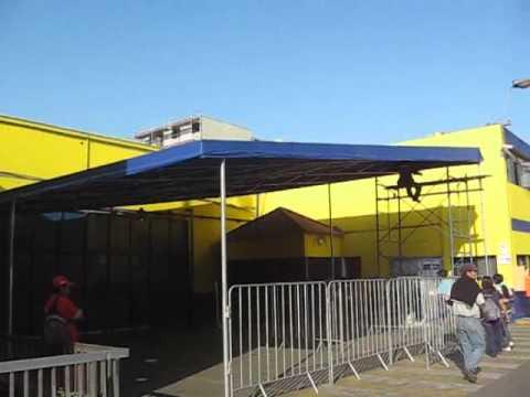 Video de toldo para cochera youtube for Precios de toldos para balcones