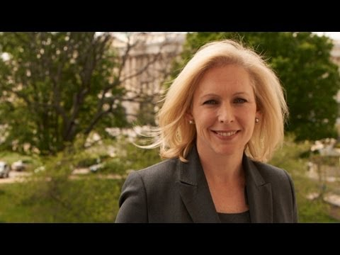 Kirsten Gillibrand: Getting More Women in Politics