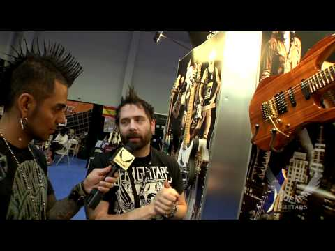 DEAN GUITARS NAMM 2012 USA GUITARS PART 3