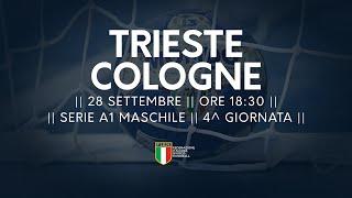 Serie A1M [4^]: Trieste - Cologne 32-28
