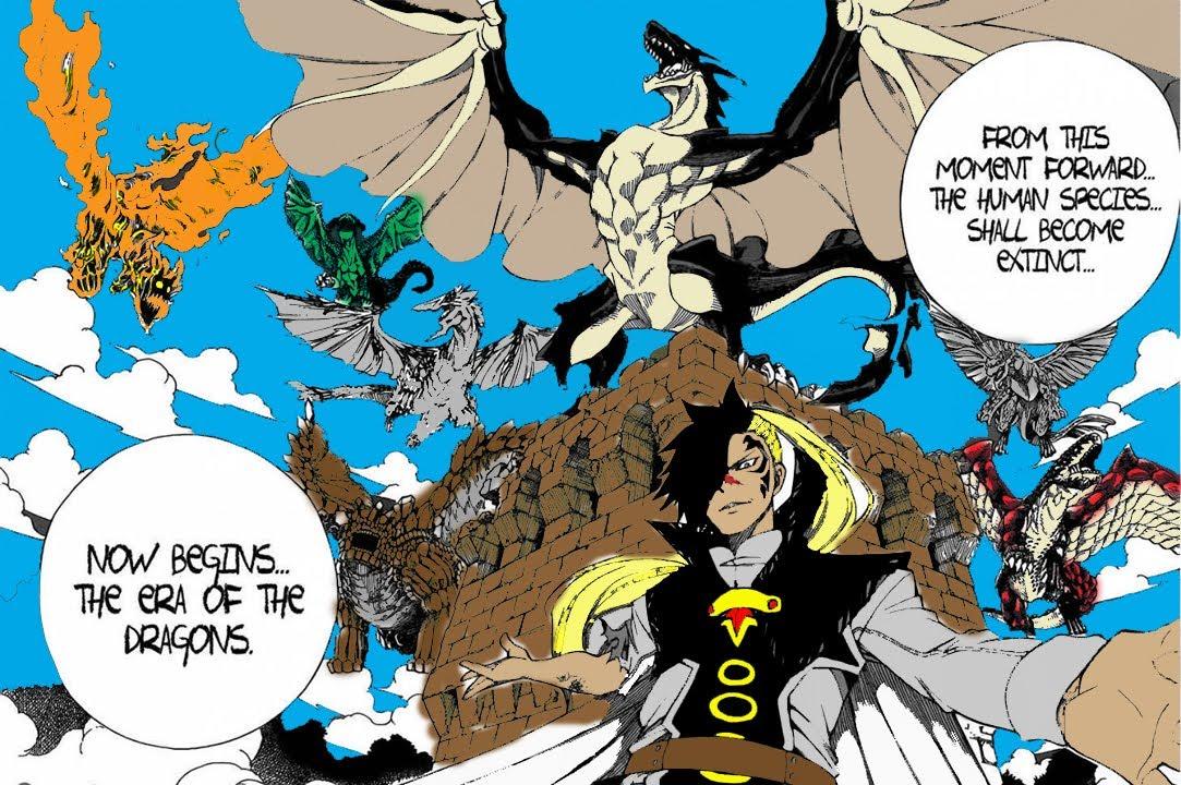 7 Dragons (FT) vs 7 Tailed beasts (Naruto) |