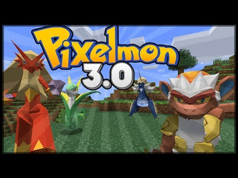 Minecraft : Pixelmon 3.0 Update - All New Pokemon and Models!
