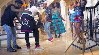"Wale X Davido X Olamide - ""FINE GIRL"" Video Shoot BTS 