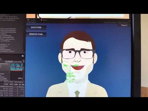 Rule-based Animation -- Ragespline + Intraface