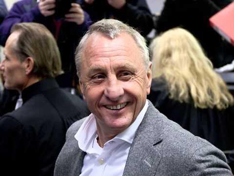 He is a legend,Johan Cruyff