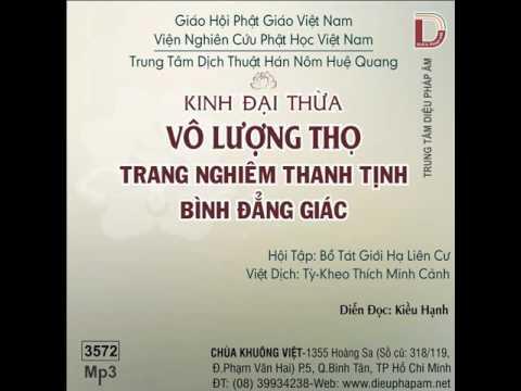 Kinh Đại Thừa Vô Lượng Thọ Trang Nghiêm Thanh Tịnh Bình Đẳng Giác (Phần 1)