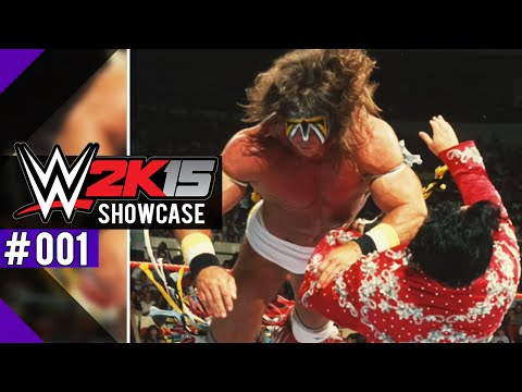 Let's Play WWE 2K15 [PS4] Deutsch ● 2K SHOWCASE DLC PATH OF THE WARRIOR #01