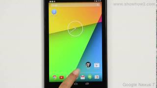 Google Nexus 7 - Reset Tablet