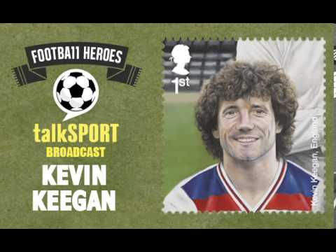 Royal Mail Football Stamps -- talkSPORT: Kevin Keegan