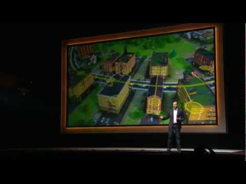 Watch as EA presents SimCity in this live recording from the 2012 gamescom press conference in Cologne, Germany.