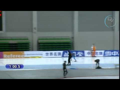 Heather Richardson & Laurine van Riessen 1000m, Changchun 2010