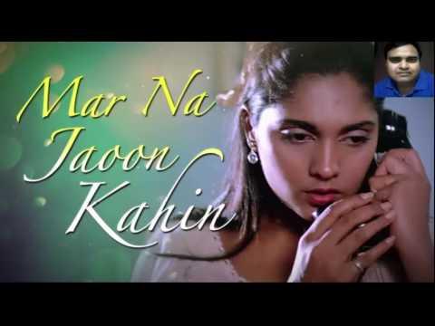 nazar ke samne jigar ke pass karaoke only for male singer by Rajesh Gupta Revised