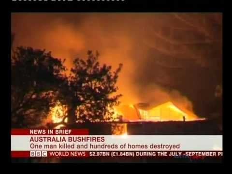 Australia wildfires raze homes in New South Wales
