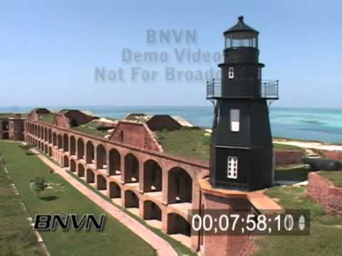 B-Roll footage from historic Fort Jefferson or Garden Key, June 2007