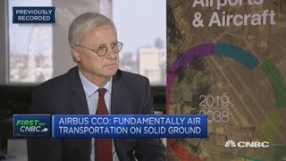 Airbus exec: Rivals like China's Comac 'don't bring anything new' | Street Signs Europe