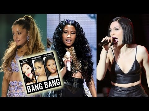 Ariana Grande, Nicki Minaj & Jessie J First LISTEN New Song
