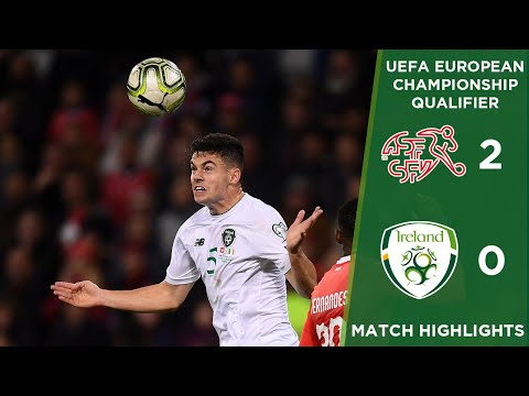 HIGHLIGHTS | Switzerland 2-0 Ireland - UEFA European Championship Qualifier