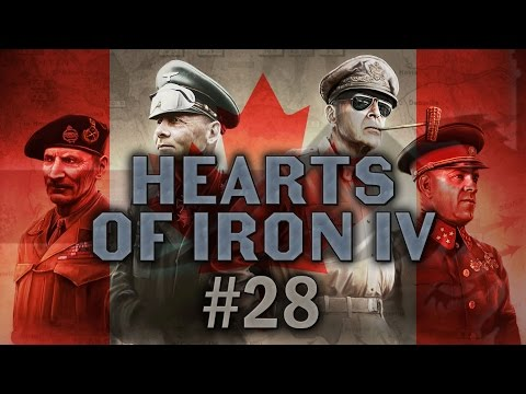 Hearts of Iron IV #28 Communist Canada - Let's Play