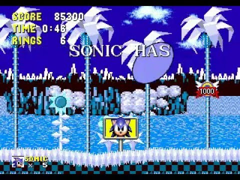 Sonineko sonic 1 hack new songs new monitors new level youtube